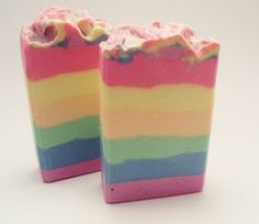 Rainbow Sherbet   Ready for the 15th by sugarandspicesoaps on Etsy, $6.00