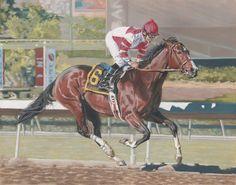 Songbird Mike Smith horse race racing fine art giclee print (35/100)signed | eBay