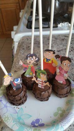 Chavo del Ocho cake pops.