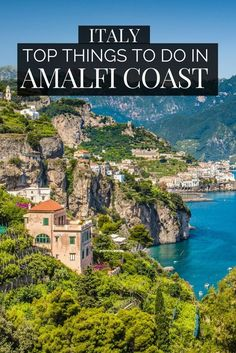 Top things to do in Amalfi Coast Italy. Discover the stunning Amalfi Coast and towns like Sorrento. This has to be one of the top Italy travel itineraries. From Naples to Sorrento, the amalfi Coast is adorned with verdant cliffs and stunning Mediterranean Cool Places To Visit, Places To Travel, Travel Destinations, Vacation Places, Travel Tours, Nightlife Travel, Travel Deals, Holiday Destinations, Travel Photographie