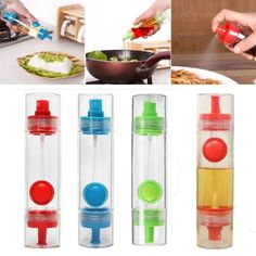 This 2 way oil sauce vinegar dispenser and spray bottle is 100 percent brand new and high quality. You Can cook with less oil without waste. Tip can use as a spray and dispenser, it is convenient for making cake and everything. It is a Perfect kitchen tool for baking and BBQ. Multi-function, you can also put oil, soy sauce and vinegar in it. Suitable for spraying ingredients when roasting, sauting, baking or cooking.  #saucebottle #spraybottle #oilspraybottle #vinegardispenser…