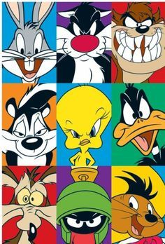 WB Loony Toons Bugs bunny Tasmanian Devil Pepe Le Pew Pie Daffy Duck Wile E. Coyote Marvin the Martian Speedy Gonzales WB Loony Toons Bugs bunny Tasmanian Devil Pepe Le Pew Pie Daffy Duck Wile E. Coyote Marvin the Martian Speedy Gonzales Cartoon Character Pictures, Classic Cartoon Characters, Classic Cartoons, Pictures Of Cartoons, Drawings Of Cartoon Characters, Cool Cartoon Drawings, Cartoon Character Tattoos, Animated Cartoon Characters, Favorite Cartoon Character