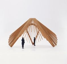 Greenhouse Pavillion at Stockholm Furniture Fair by NOTE in...