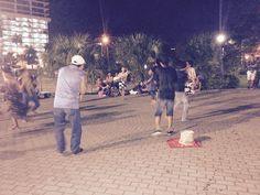 Cinta Costera - Indios Kunas bailando su música típica. Panamá