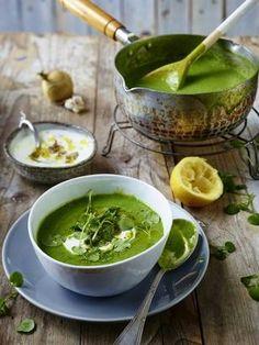 Das Rezept für Brunnenkresse-Suppe und weitere kostenlose Rezepte auf LECKER.de