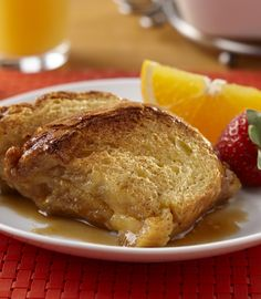 This is THE French Toast recipe! Brown sugar and butter combine for the caramelized syrup and the bread marinates in AE Egg Nog which gives it a rich vanilla custard flavor! And, you can make it the night before to bake in the morning. No time? Just dip Holiday Recipes, Great Recipes, Favorite Recipes, Brunch Recipes, Breakfast Recipes, Egg Nog, Vanilla Custard, What's For Breakfast, Brown Sugar