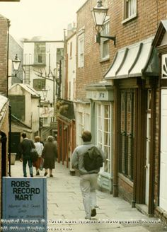 Hurts Yard Looking South, Nottingham, 1986 Nottingham City, Good Old Times, History Photos, My Town, Derbyshire, Historical Photos, Britain, The Past, Ska