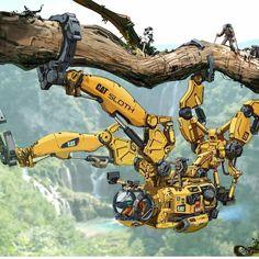 Futuristic Art, Futuristic Technology, Arte Robot, Arte Cyberpunk, Digital Art Gallery, Cyberpunk Character, Robot Concept Art, Robot Design, Illustration