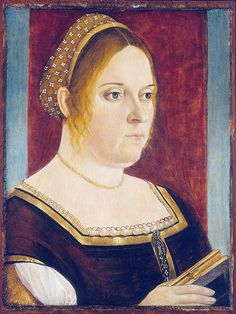 Vittore CARPACCIO - Portrait of a woman with book  #TuscanyAgriturismoGiratola