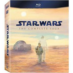 If someone buys me this, I will be their BEST FRIEND forever! || Star Wars: The Complete Saga (Blu-ray) (Widescreen)