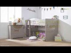 Lit Enfant Mi-Hauteur Spark Lin 90x200 cm - Ma Chambre d'Enfant .com