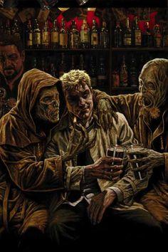 John Constantine by Lee Bermejo