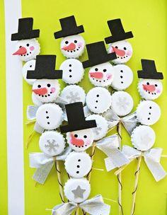 40 Brilliant DIY Snowman Crafts Ideas for Amazing Winter