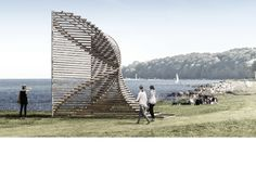 As we were preparing for our exhibition in Copenhagen we were invited to submit a proposal for next year's Sculpture by the Sea, Aarhus - Denmark. Our project Sømærke was selected and will be completed next summer. Have a look at it here: