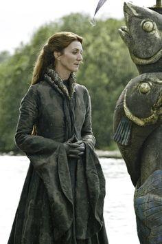 Catelyn Stark #gameofthrones #fashion