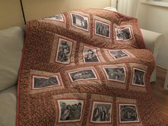 Photoquilt Quilts, Blanket, Bed, Home, Stream Bed, Quilt Sets, Quilt, Rug, Blankets