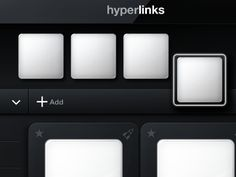 Hyperlinks Comp 2 - Interaction Work on Launch Dock by The Skins Factory