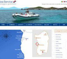 SEA SERVICE NAUTICA - Sea Service Nautica dal 2003 noleggia gommoni nelle coste dell'Oristanese, in Sardegna, con il proprio punto-base nella spiaggia di Putzu Idu.    www.seaservicenautica.info