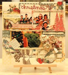 Read more @ http://www.thescrapperinme.blogspot.com !  Oh, my Christmas 2010 layout with the awesome Webster's Pages Christmas Botanical Collection!