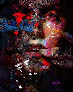 "Saatchi Art Artist: yossi kotler; Digital 2014 New Media ""inner meaning"""