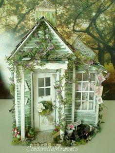 Cinderella Moments: Shabby Chic Maisonnette de Provence Dollhouse ...
