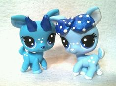 Rudolph Clarice Winter Edition OOAK Hand Painted Custom Littlest Pet Shop | eBay