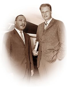 Martin Luther King Jr. and Billy Graham