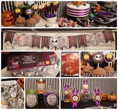 Nightmare Before Christmas Birthday or Baby Shower | CatchMyParty.com