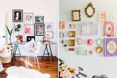 5 ideias para decorar paredes brancas