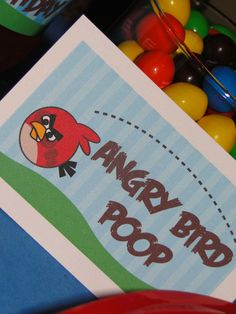 """Photo 10 of 38: Angry Birds / Birthday """"Angry Bird Party"""" 