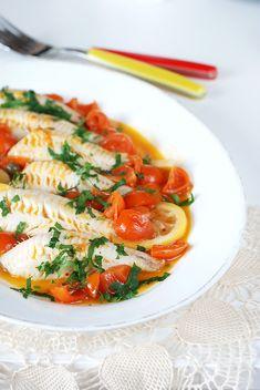 Filetti di pesce gallinella all'agro Un secondo di pesce gustoso e leggero, perfetto per la stagione estiva