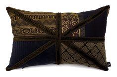 ユニオンジャックデザインでキルト風なヴィンテージクッション #cushion #cushioncover #クッション #クッションカバー #ヴィンテージ #アンティーク #vintage