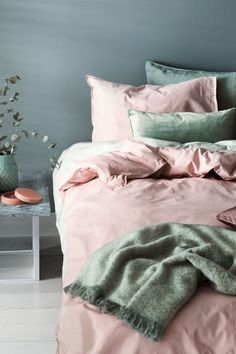 Cotton duvet cover set - Light pink - Home All | H&M CA 1