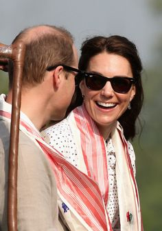 Kate Middleton Photos - The Duke and Duchess of Cambridge Visit India and Bhutan - Day 4 - Zimbio