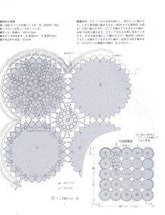 Ampia raccolta di centri componibili a uncinetto di varie forme, tutti con schemi. Clicca sulla foto per ingrandire i modelli e gli schemi.