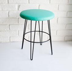 Mid-century modern atomic stool.