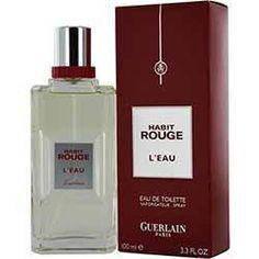 HABIT ROUGE L'EAU by Guerlain (MEN)
