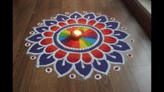 Simple, Easy and Quick freehand Rangoli designs with colours for Diwali . Easy Rangoli Designs Diwali, Colorful Rangoli Designs, Indian Rangoli Designs, Simple Rangoli Designs Images, Rangoli Designs Latest, Rangoli Designs Flower, Rangoli Colours, Free Hand Rangoli Design, Rangoli Border Designs