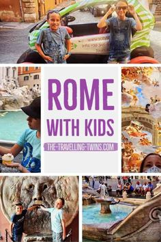 Exploring Rome with kids is an awesome thing, so much history on every step. Colosseum and Gladiators, Piazza Navona, Trevi Fountain, Lido di Ostia and many more Italy Travel Tips, Europe Travel Guide, Travel Guides, Travel Abroad, Europe Destinations, Travel With Kids, Family Travel, Group Travel, Best Places To Travel
