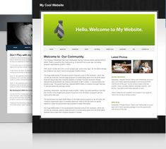 Easy website creator.  Free and very simple.