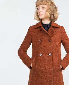 BOUCLÉ COAT-View all-Outerwear-WOMAN | ZARA United States