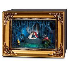 Disney Olszewski Gallery of Light Figure - The Little Mermaid Ariel