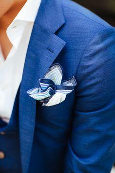 Men's Pocket Square Inspiration #3 | MenStyle1- Men's Style Blog
