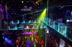 Nerja nightlife. A night out on the town.