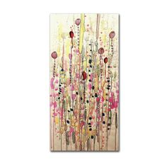 Samsara by Sylvie Demers Painting Print on Wrapped Canvas
