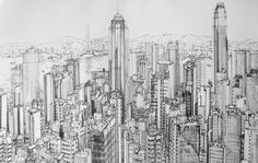 Hong Kong Cityscape by jimrice881