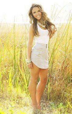 Easy summer look - Katrina Hodgson of Tone it Up.