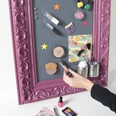Idées loisirs créatifs : Cadre magnétique - La Belle Adresse