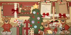 Precious Memories by Julie: A Beary Merry Christmas