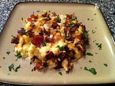 ... Carb: Comfort Food - Caramelized Onion and Prosciutto Mac and Cheese